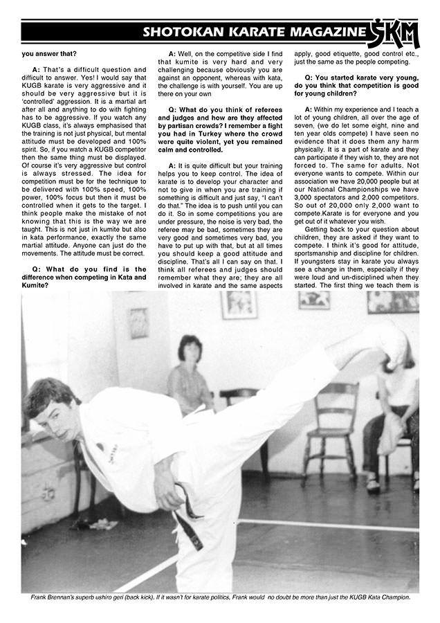 Shotokan Karate Magazine - Digital pdf's of every back