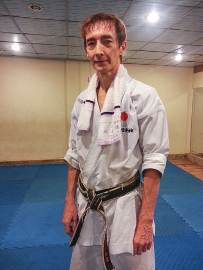 Dr Dave Hooper 4th Dan JKA
