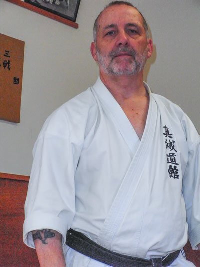 Mike Clarke 8th Dan Goju Ryu