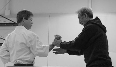 Tim Hanlon, M.D. and his sensei Hidetaka Nishiyama