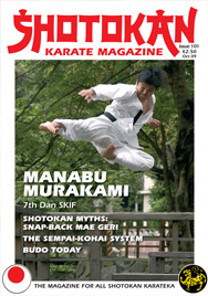 Shotokan Karate Magazine Issue 101 October 2009