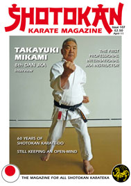 Shotokan Karate Magazine Issue 107 April 2011
