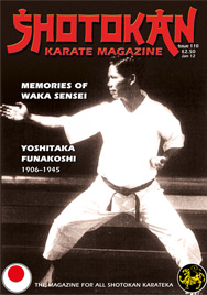Shotokan Karate Magazine Issue 110 January 2012