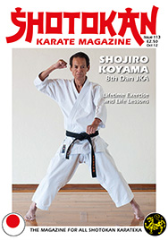 Shotokan Karate Magazine Issue 113 October 2012