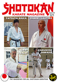 Shotokan Karate Magazine Issue 116 July 2013