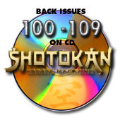 Back Issues 100-109 on CD