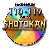Back Issues 110-119 on CD
